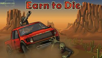 <b>Earn To Die</b>: <i>How bad would you like to get into the car and split from the dry desert full of roaming zombies? Fi...</i>