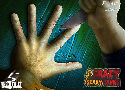 Finger fillet crazyscarygames