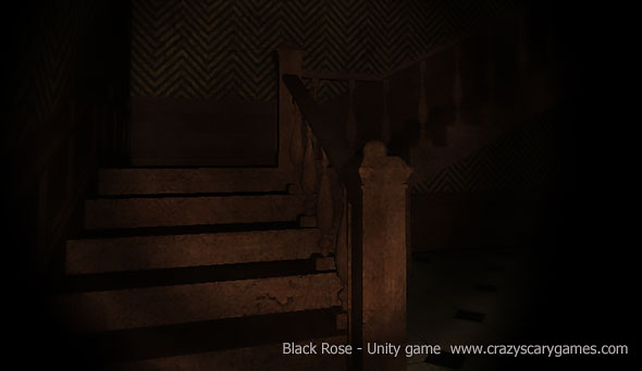 image of Black Rose: dark stairways