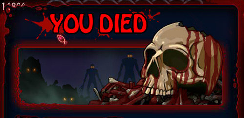 Dark Soul Monster: you died