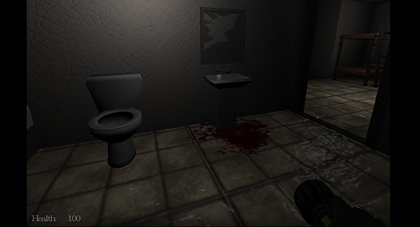 image of Dead Lab: bloody bathroom