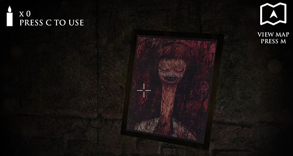 dungeon nightmares crazyscarygames dungeon nightmares creepy painting