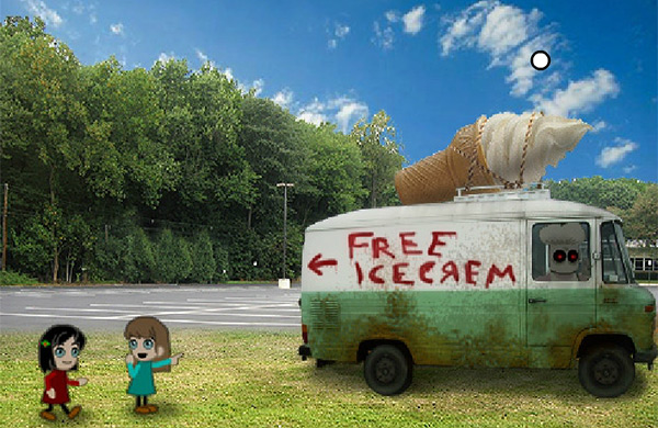 Free Icecream scary game: the truck