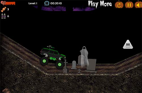 Halloween Monster Truck Screenshot
