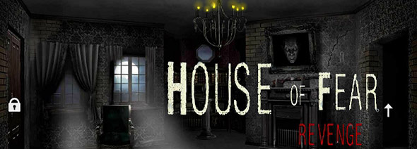 House Of Fear Point And Click Game Blow Up The Ghost