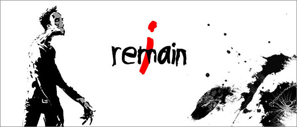 image of I remain horror game: poster.