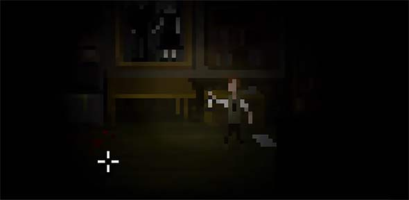 image of The last door chapter 4: candle barely lits the room