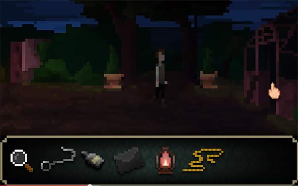 image of The last door chapter 4: the inventory