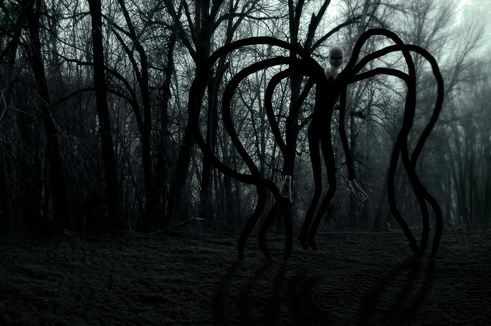 Creepiest Slenderman Photos - Crazy Scary Games - Online Games